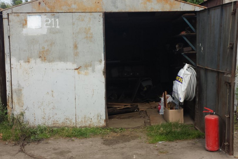 Как поднять крышу гаража своими руками - металлического, деревянного