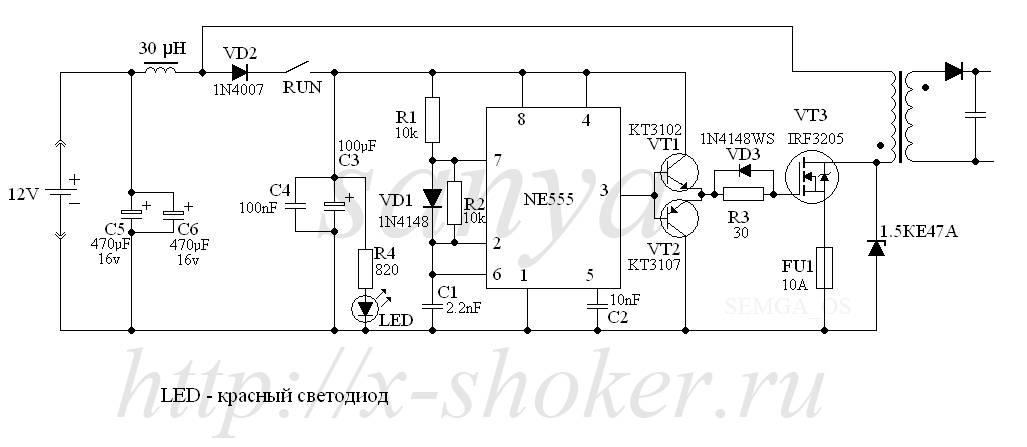 Ионизатор воздуха своими руками в домашних условия из доступных деталей