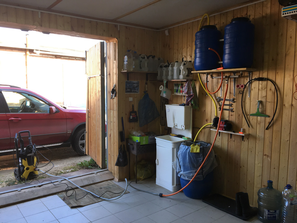Мойка в гараже: как правильно все сделать