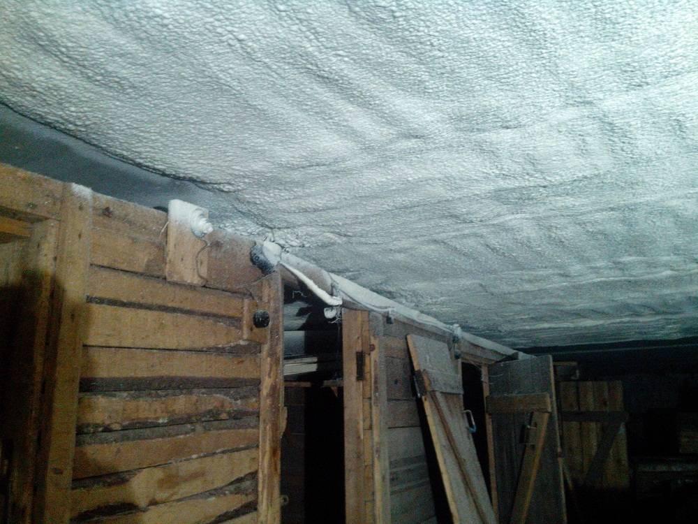 Личный опыт утепления потолка в гараже изнутри (быстро и недорого). идею подкинул сосед. о правильности утепления. рассказываю, каких подвохов ждать.