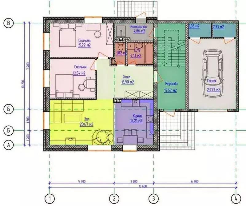 Дом с мансардой: фото, проекты и особенности планировки