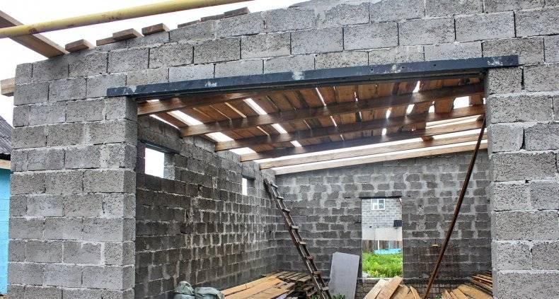 Односкатная крыша гаража: как лучше сделать