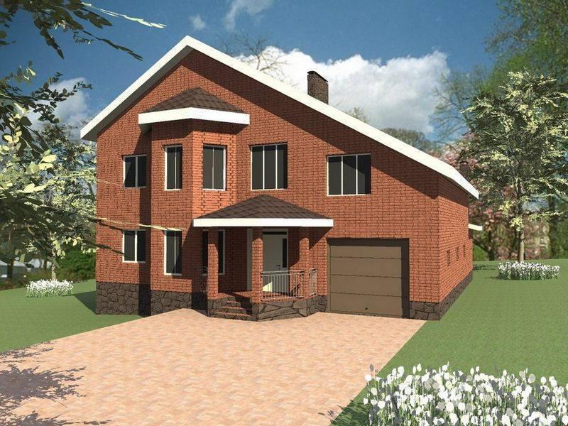 ???? проект дома с гаражом: преимущества и лучшие решения