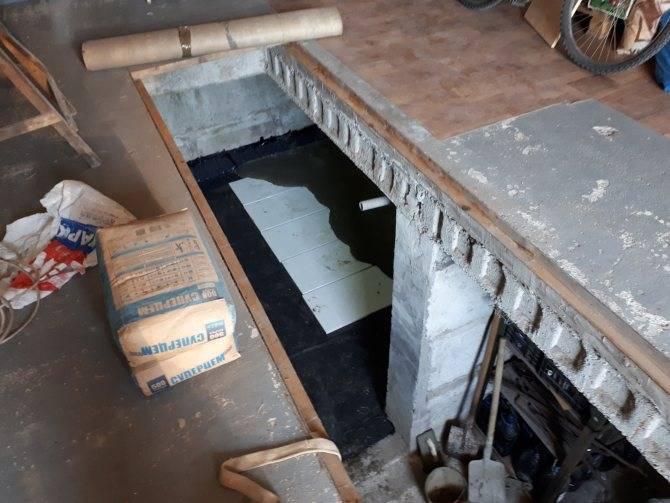 Как построить погреб в гараже согласно всем правилам