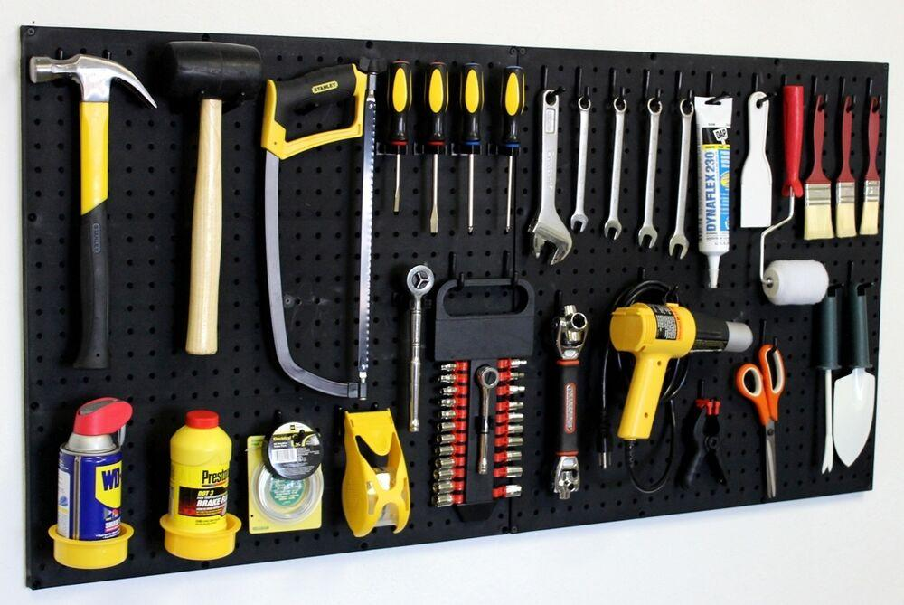 Хранение инструмента в гараже: органайзер для размещения и стеллажи своими руками