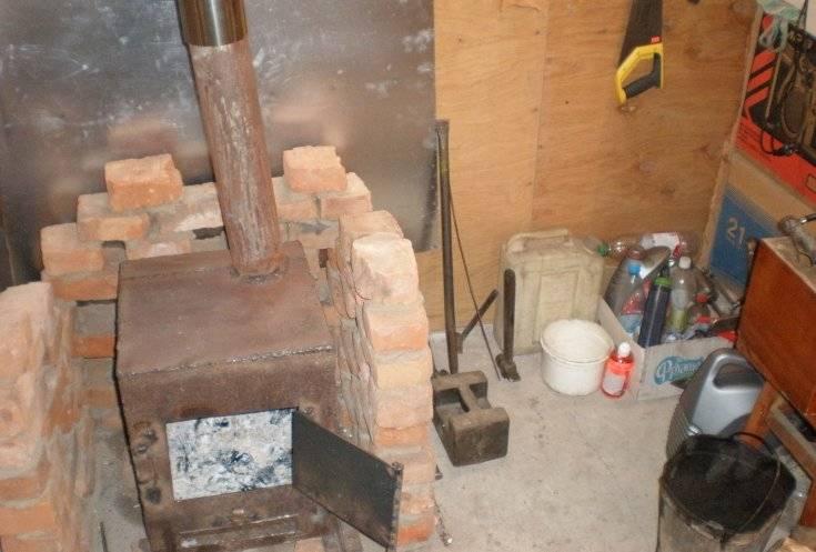 Делаем печь для гаража своими руками: обзор 4-х лучших самодельных конструкций строительство и ремонт гаража