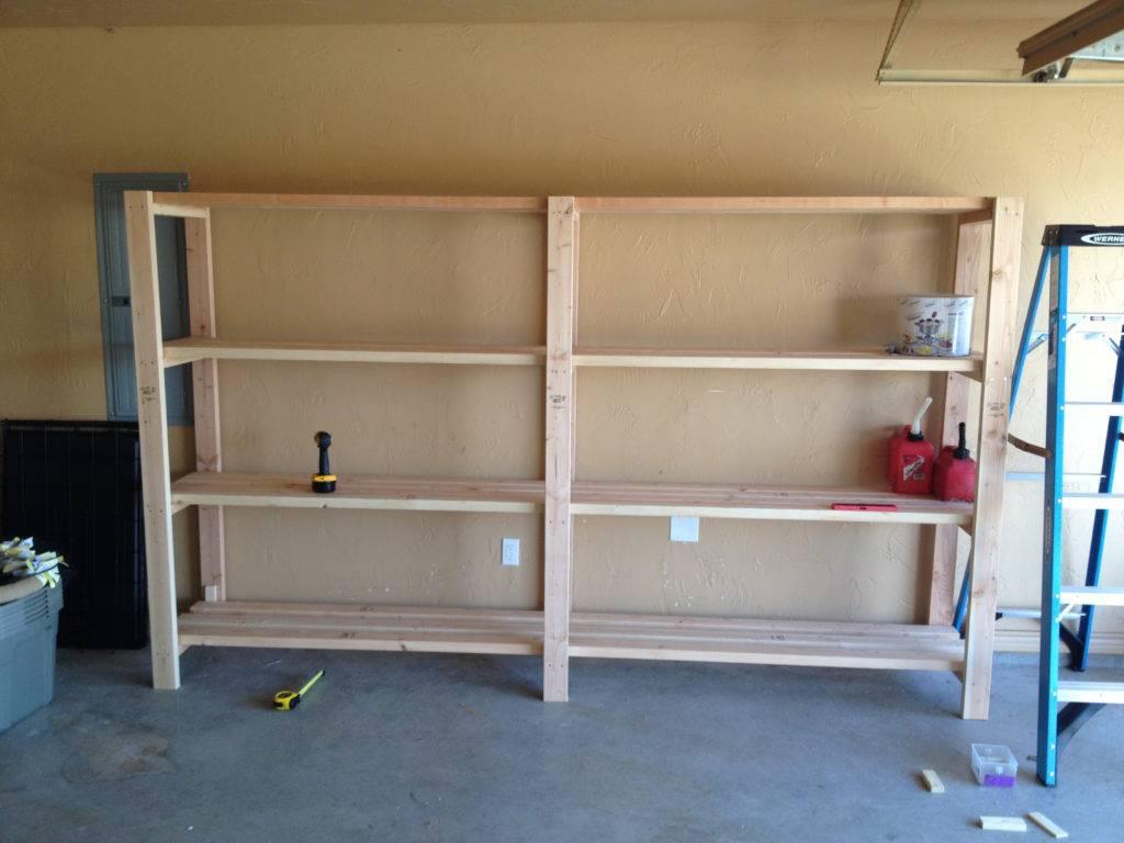 Делаем стеллажи для гаража своими руками виды конструкций видео