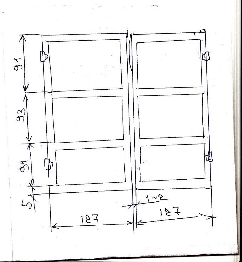 Складные ворота в гараж: как сделать своими руками, пошаговая инструкция с фото