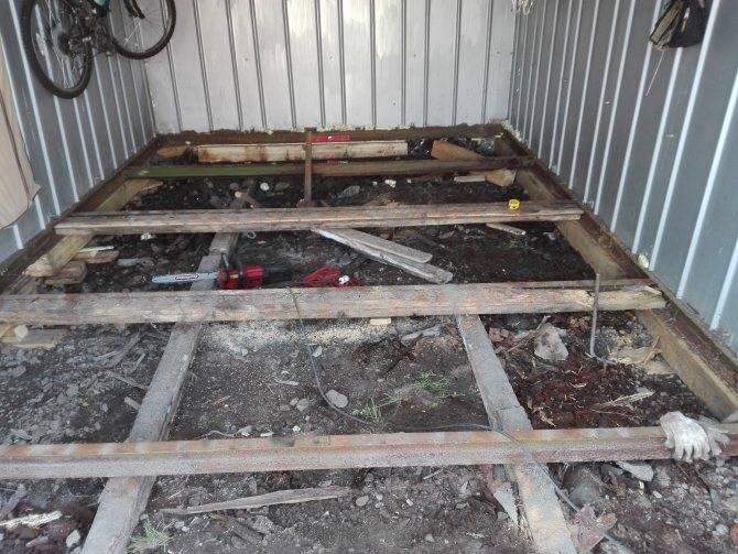 Деревянный пол в гараже своими руками: подготовка и монтаж
