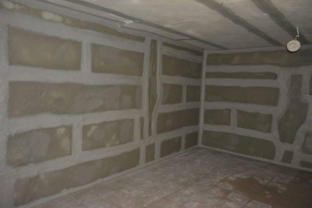 Проект двухэтажного гаража с подвалом и смотровой ямой: схемы + фото + видео   погреб-подвал