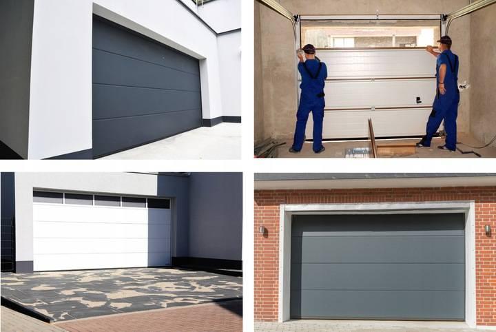 Ворота секционные рулонные для гаража: как сделать своими руками и какие лучше