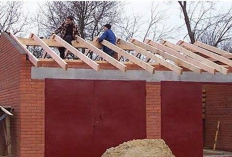 Как сделать двухскатную крышу: пошаговая инструкция монтажа и установки своими руками (фото)