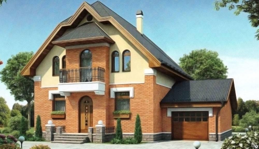 Одноэтажный дом с гаражом под одной крышей: особенности проектирования, варианты проектов и планировок