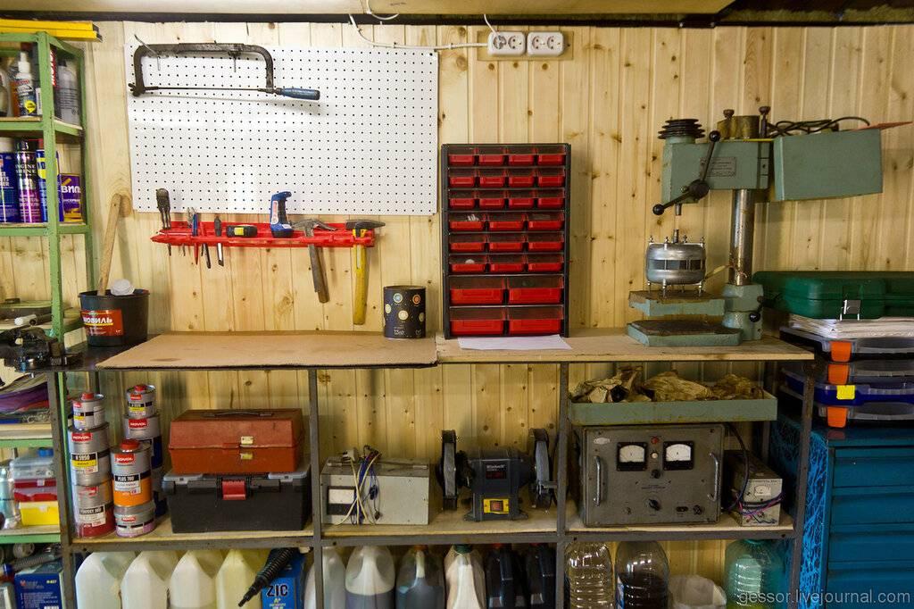 Обустройство гаража своими руками: подробная инструкция