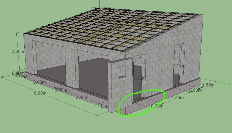 Гараж из пеноблоков: основные аспекты самостоятельного возведения сооружения