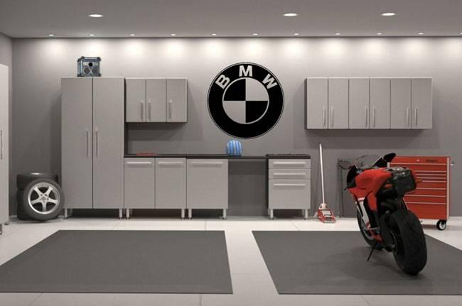 Как обустроить гараж внутри: планировка, отделка, системы хранения
