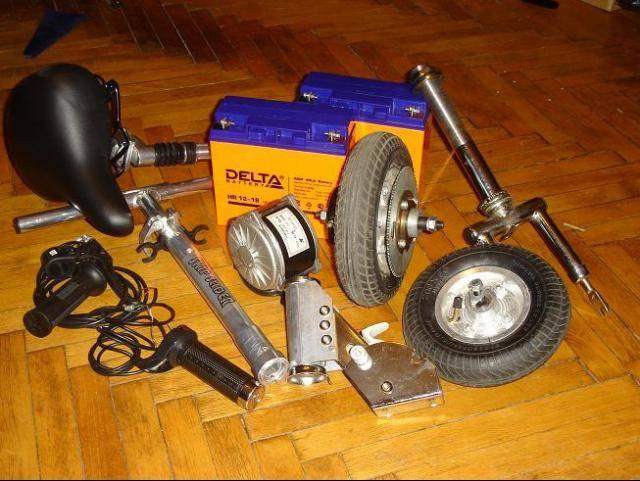 Электросамокат своими руками: как сделать самодельный электро велосипед из шуроповерта, триммера, как собрать, переделка из обычного самоката, чертежи