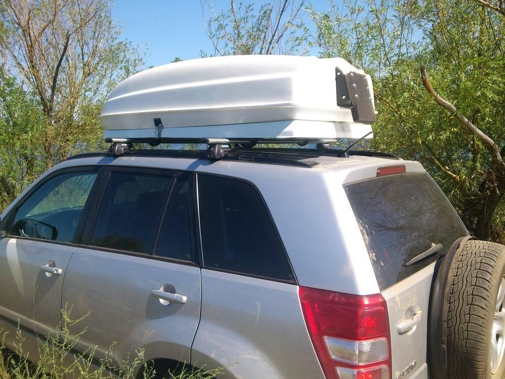 Можно ли ставить автобокс на крышу автомобиля, нужно ли регистрировать в гибдд и есть ли штраф?