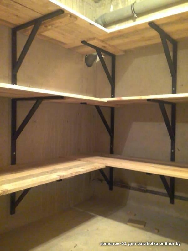 Стеллаж из дерева в гараж своими руками - проект с фото