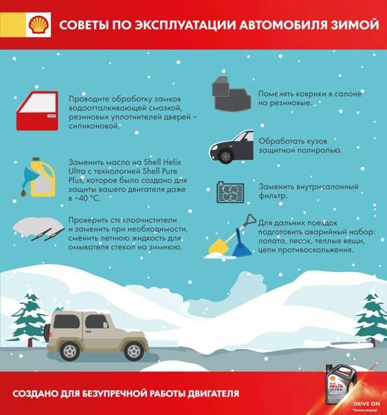 Как хранить авто зимой на улице