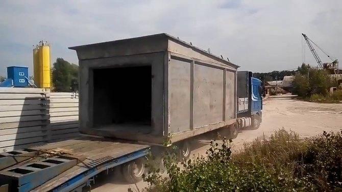 Строительство монолитного бетонного гаража своими руками — толщина стен, покрытие, заливка
