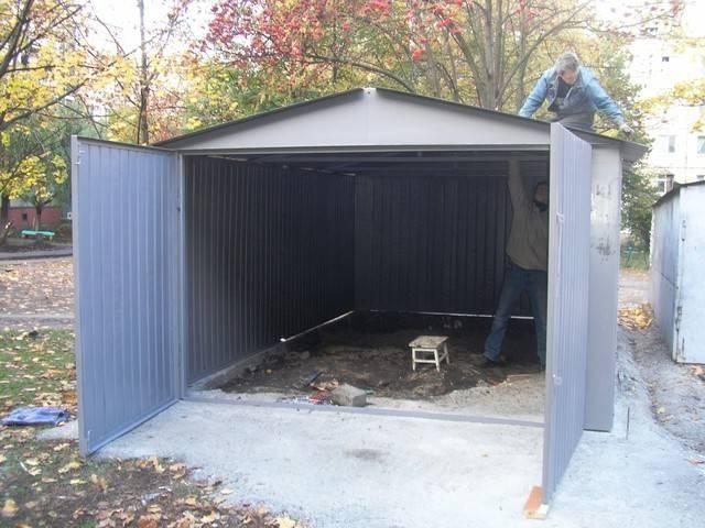 Из чего лучше и дешевле построить гараж на даче. из какого матерала строить гараж выгоднее всего