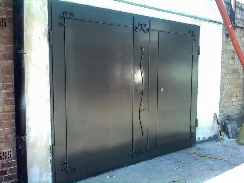 Ворота для гаража своими руками: чертежи как сделать подъемные, видео, фото, схемы и эскизы конструкции