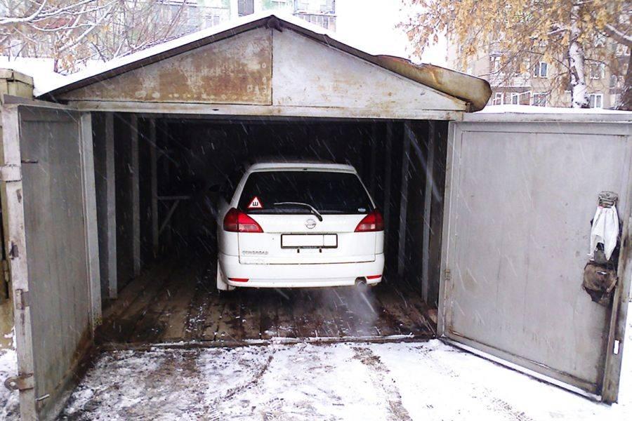 Как правильно хранить автомобиль зимой в гараже: советы