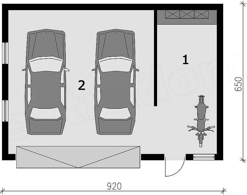 Какой размер гаража самый оптимальный