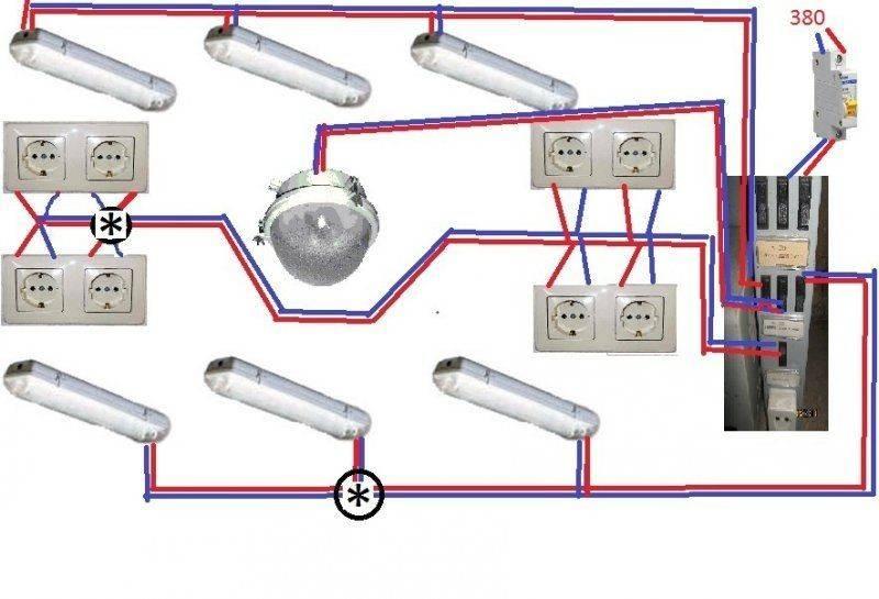 Как провести электропроводку в гараже
