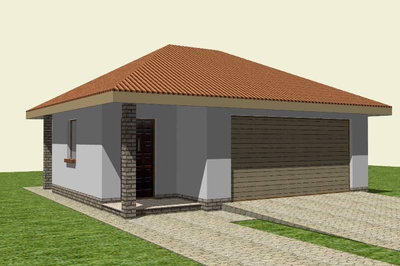 Проекты гаражей: типовой проект гаража на одну машину