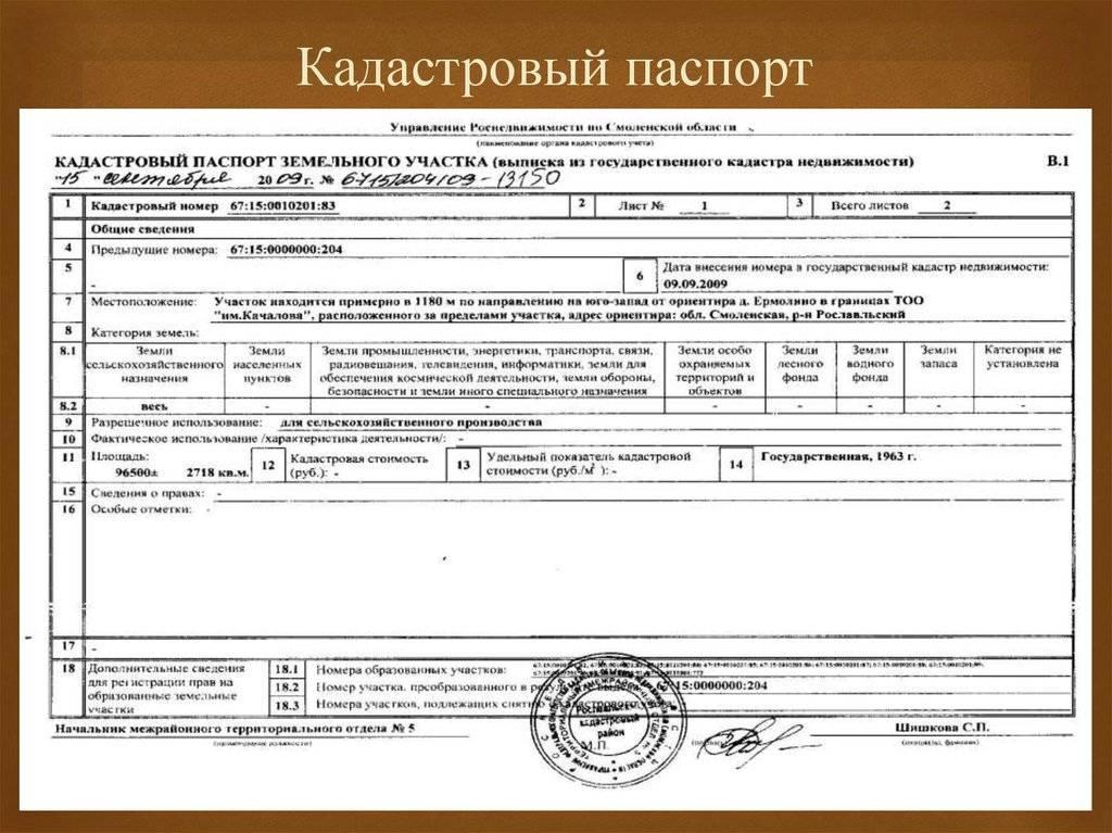 Срок действия кадастрового паспорта: может ли документ стать недействительным