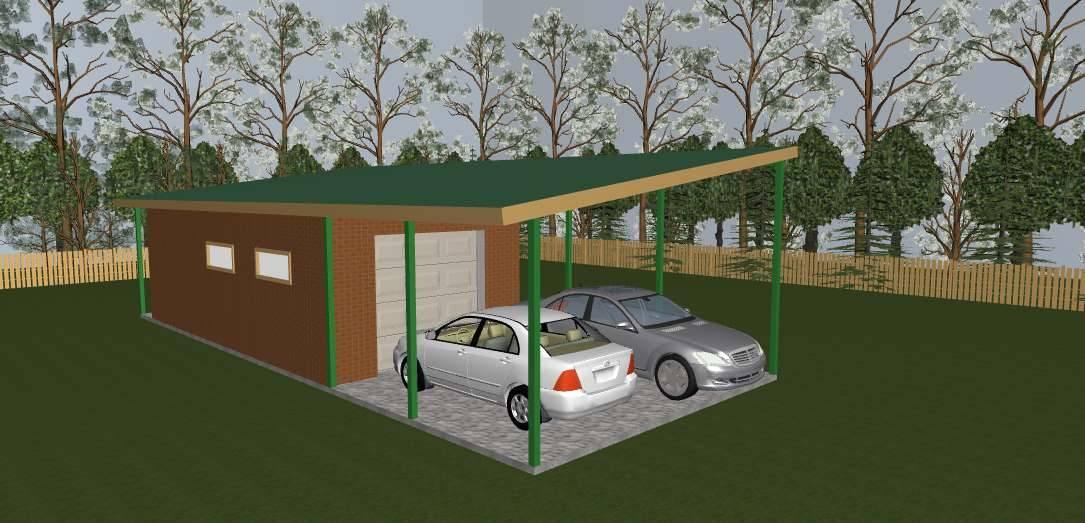 Из чего построить гараж своими руками недорого. 5 лучших вариантов