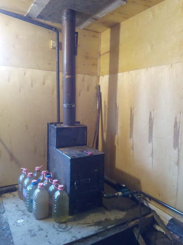 Как построить печь для гаража своими руками