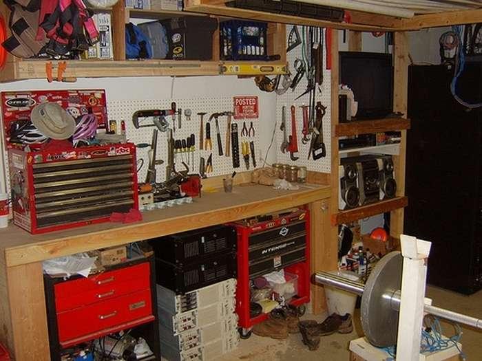 Какие приспособы для гаража можно сделать самостоятельно