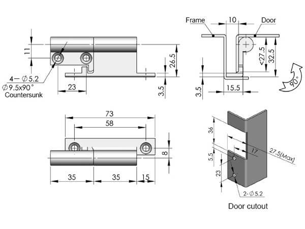Выбор и установка петель для гаражных ворот