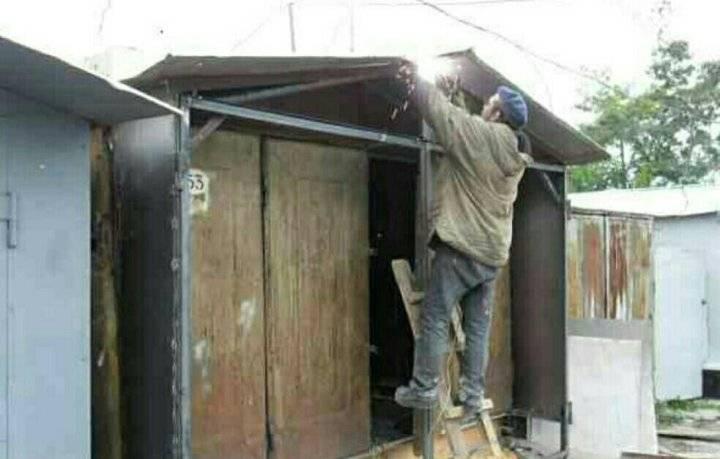 Как правильно утеплить гаражные ворота изнутри своими руками: проверенные способы