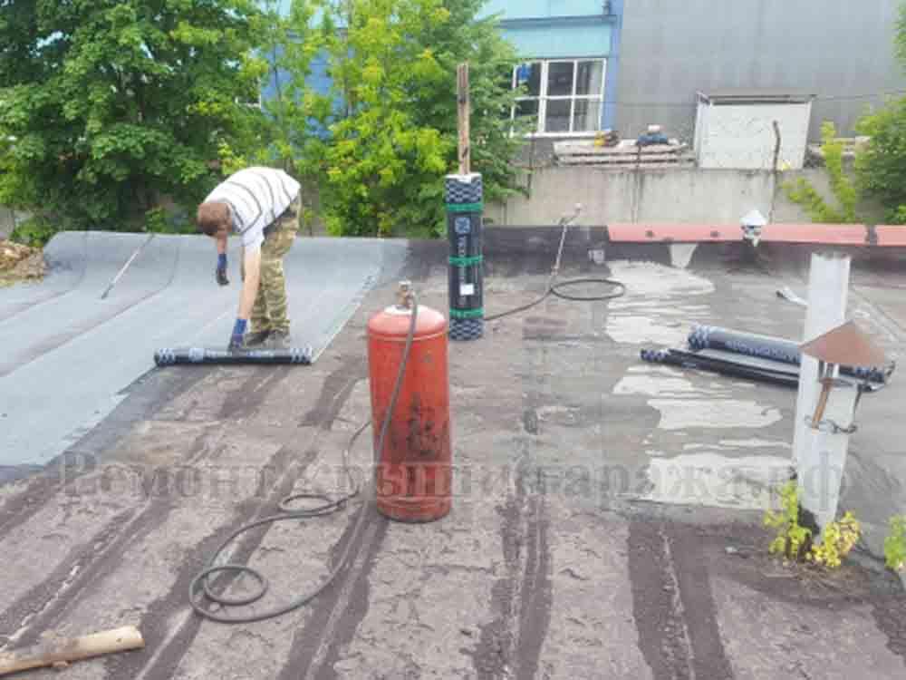 Пошаговая инструкция ремонта крыши гаража своими руками