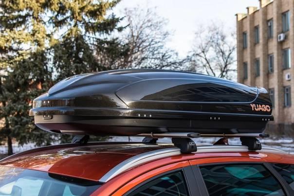 Автобокс на крышу: можно ли в 2021 году и какой штраф?