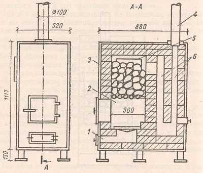 Обогрев помещения без лишних затрат: как соорудить печь из кирпича для дачи?