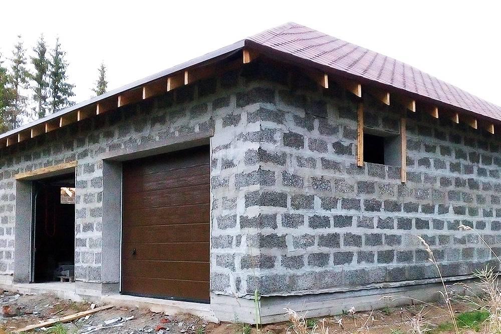 Самый дешевый материал для постройки гаража