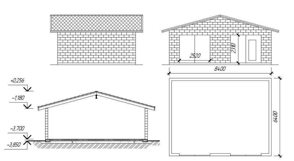 Гараж из пеноблоков: инструкция как построить