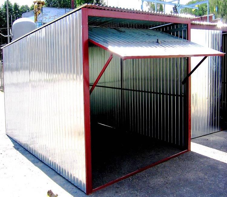 Как построить гараж из металлопрофиля своими руками - пошаговая инструкция с фото, видео и чертежами