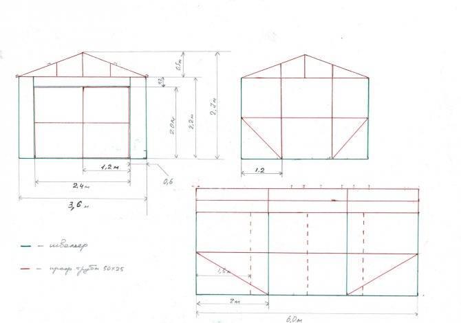 Как сделать металлический гараж своими руками, правила постройки, расчеты и чертежи