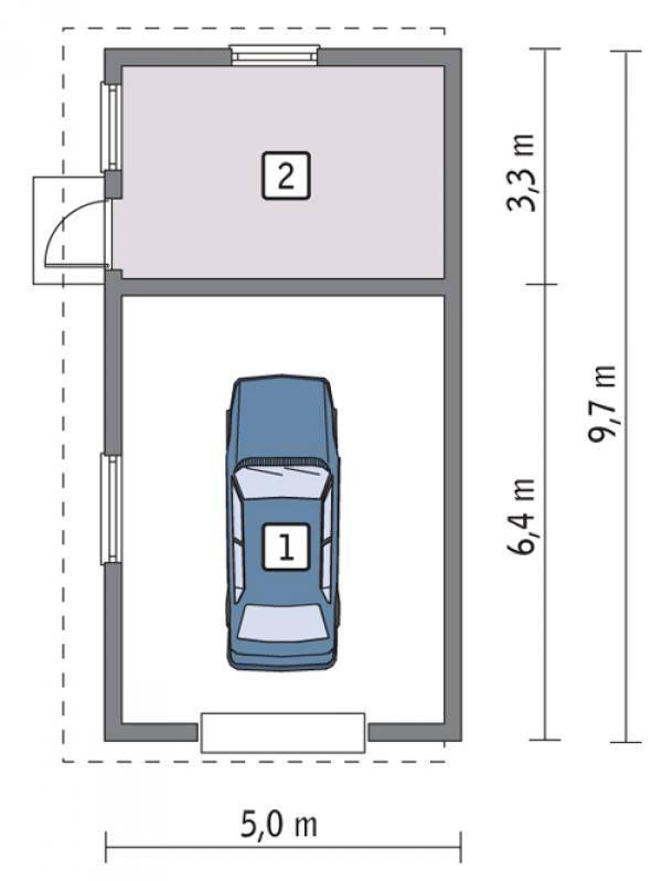 Размеры гаражных ворот – стандарты ширины и высоты