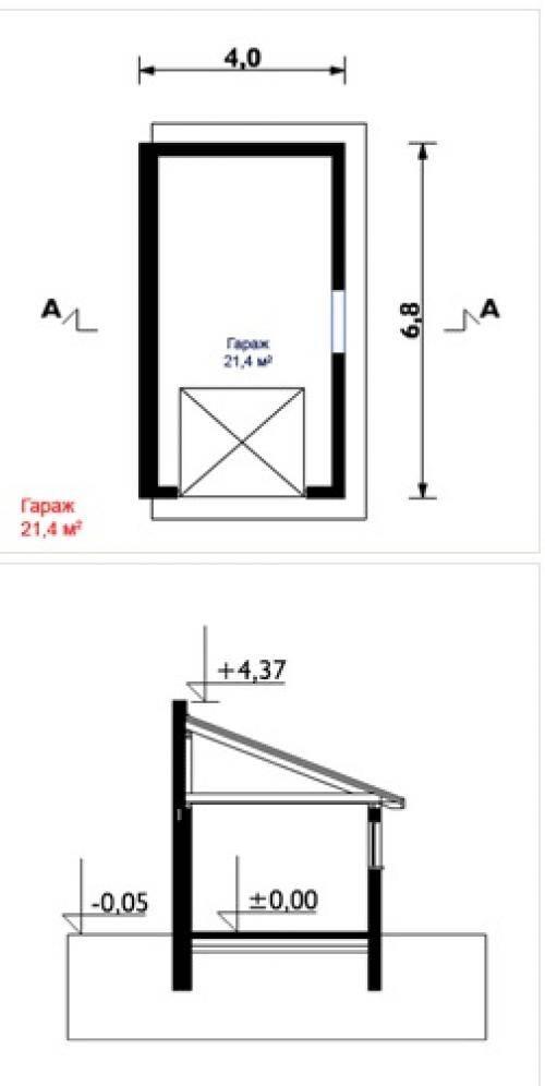 Оптимальные размеры гаража на 1 машину: расчет минимальной ширины на один автомобиль в частном доме