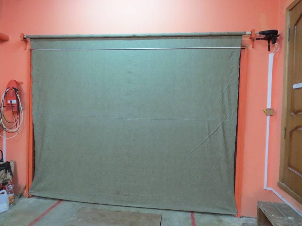 Каким материалом штор утеплить гаражные ворота - дизайн мастер fixmaster74.ru