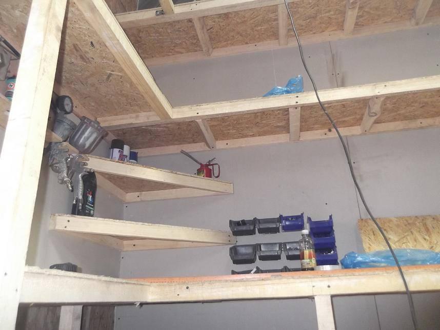 Делаем полки в гараже своими руками — практичные советы, рекомендации