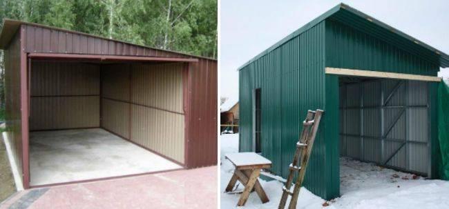 Как быстро построить гараж своими руками – выбор доступных материалов, рекомендации и советы + видео