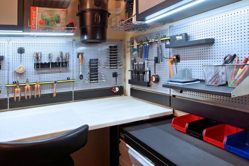 Как обустроить гараж: 135 фото вариантов оформления своими руками
